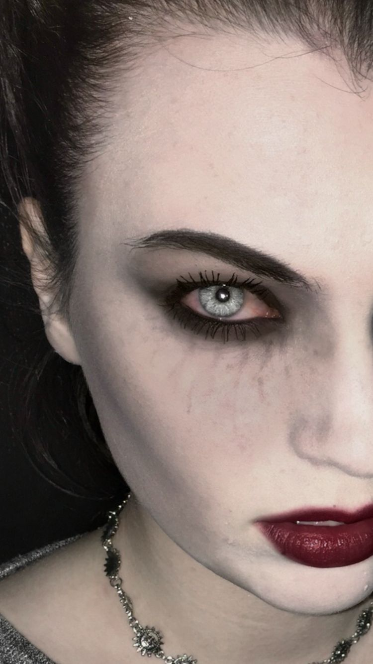 Subtle Ish Vampire Makeup Halloween Makeup Vampire Makeup Halloween Vampire Makeup