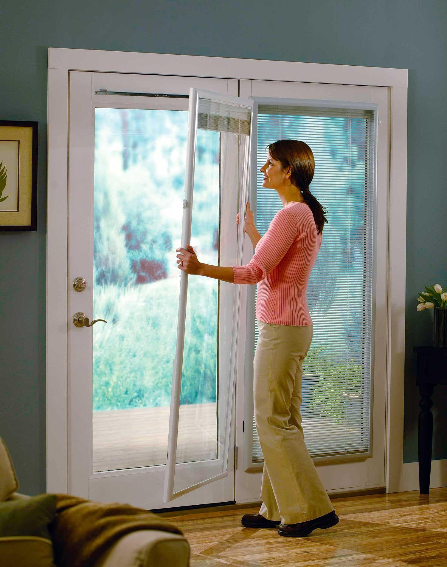 Window coverings for sliding doors  odl addon blinds for doors  flush frame  curtains for lounge