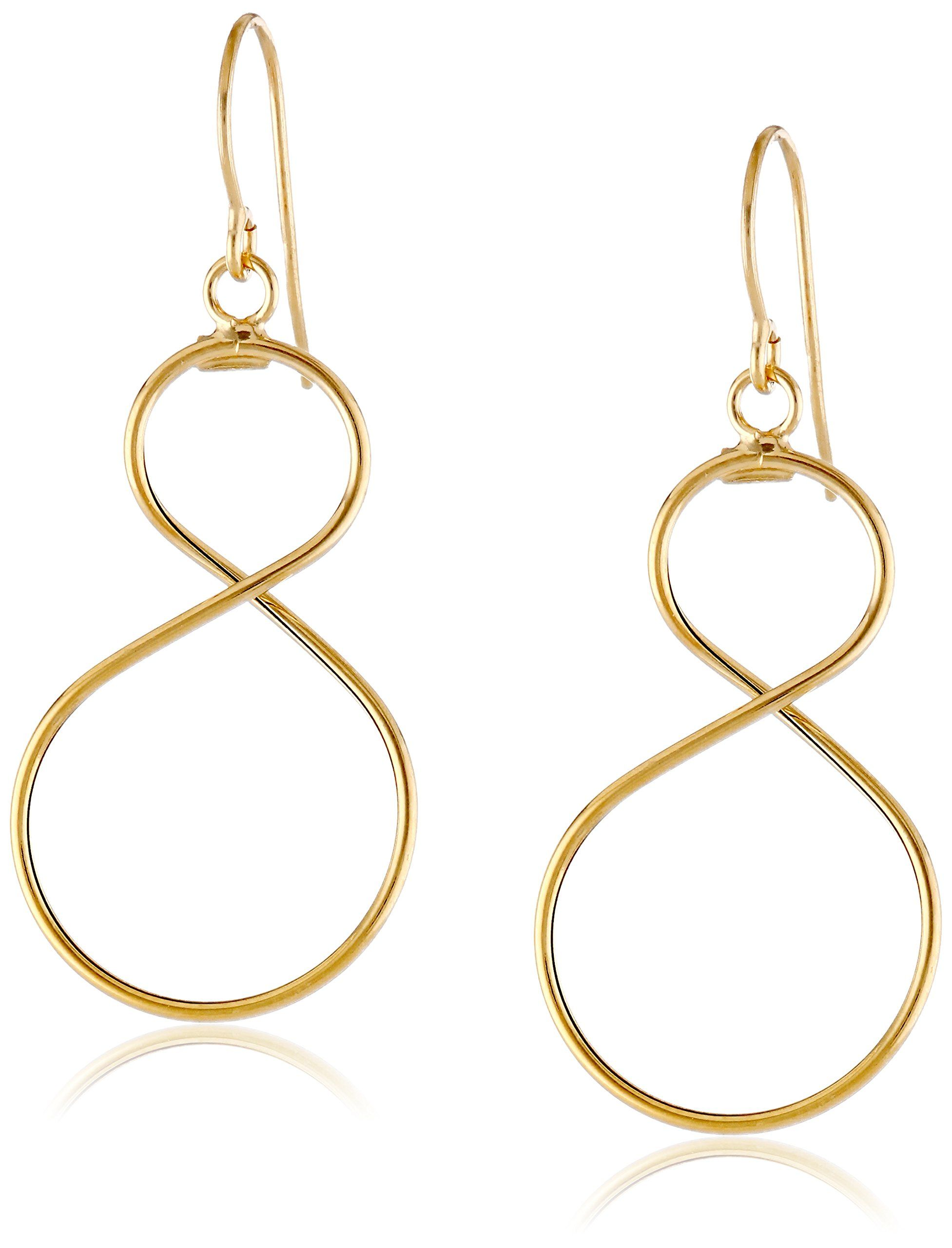 triple gold shipping two oval hoop today tone italian jewelry fremada earrings watches overstock free overlapping product