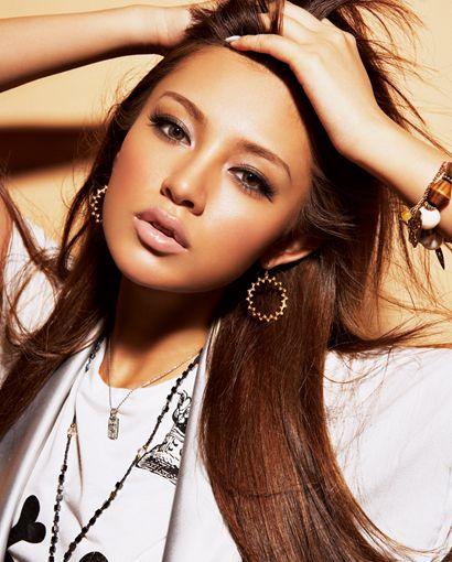 Chikako Watanabe 渡辺知夏子/ Makeup, Smoky Eye for Half-Asian