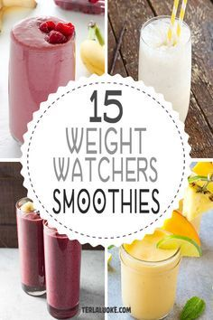Looking for some great Weight Watchers Smoothies? I've got an awesome collection of Freestyle WW Smoothie Recipes for an energizing healthy breakfast.