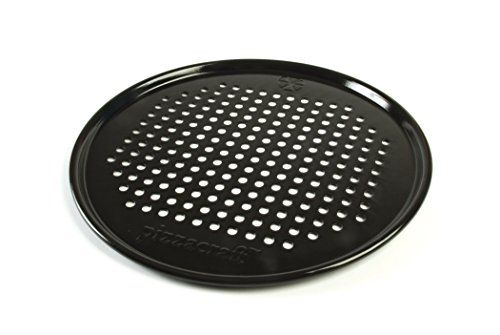 Pizzacraft Pc0301 129 Round Porcelaincoated Pizza Pan Crisperscreen Find Out More About The Great Product At The A Yummy Homemade Pizza Pizza Perfect Pizza