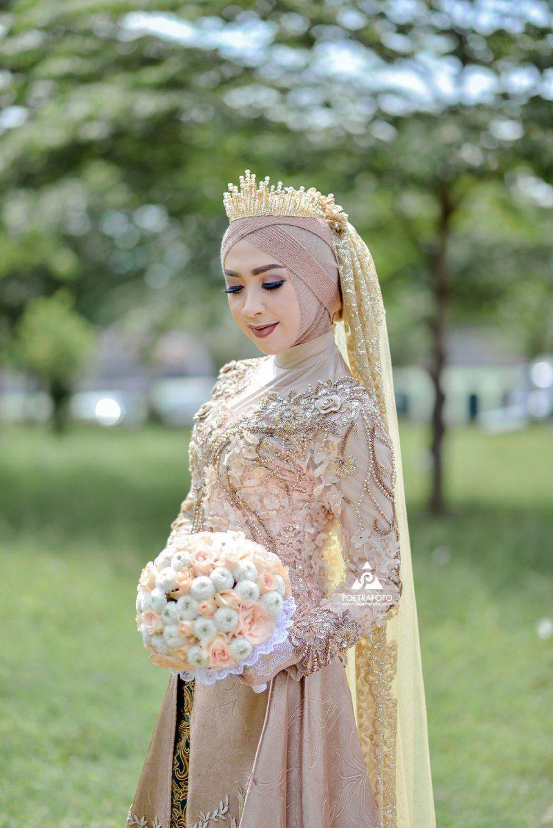 Pengantin Hijab Modern Terbaru dg Muslimah Wedding Dress Hijab