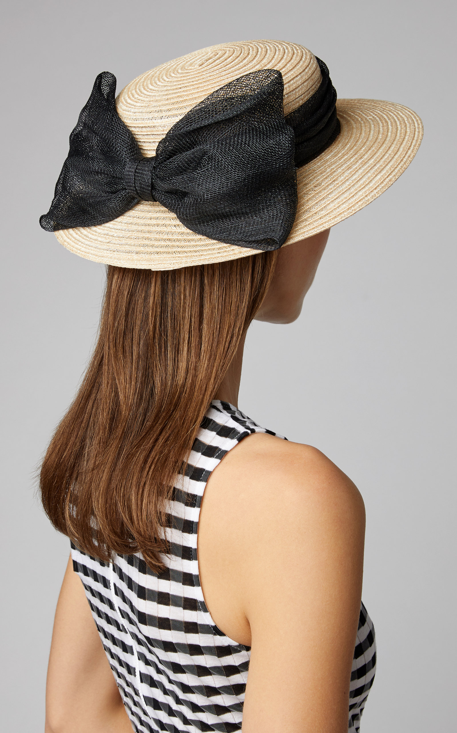 46f9710cc9821 Eugenia Kim Brigitte Bow-Detailed Straw Boater in 2019   Products ...