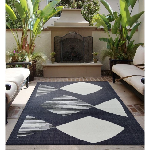 Mod Fish Outdoor Rug Navy Project 62 Target Rugs Area Rugs Outdoor Rugs