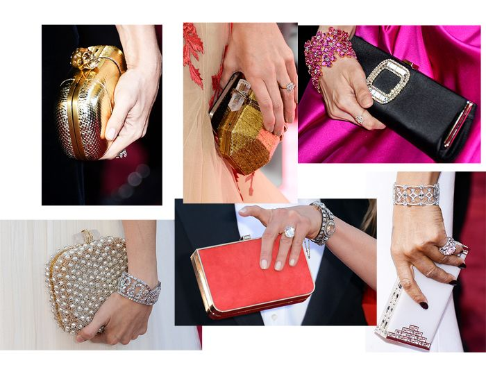Best Clutches at Oscars 2013