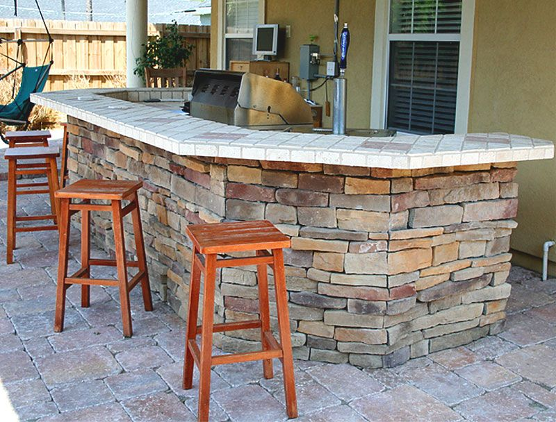Outdoor Kitchens And Summer Kitchens Idea Photo Gallery Enhance Companies Brick Paver Installation And Sales Jack Brick Paving Paver Patio Brick Pavers
