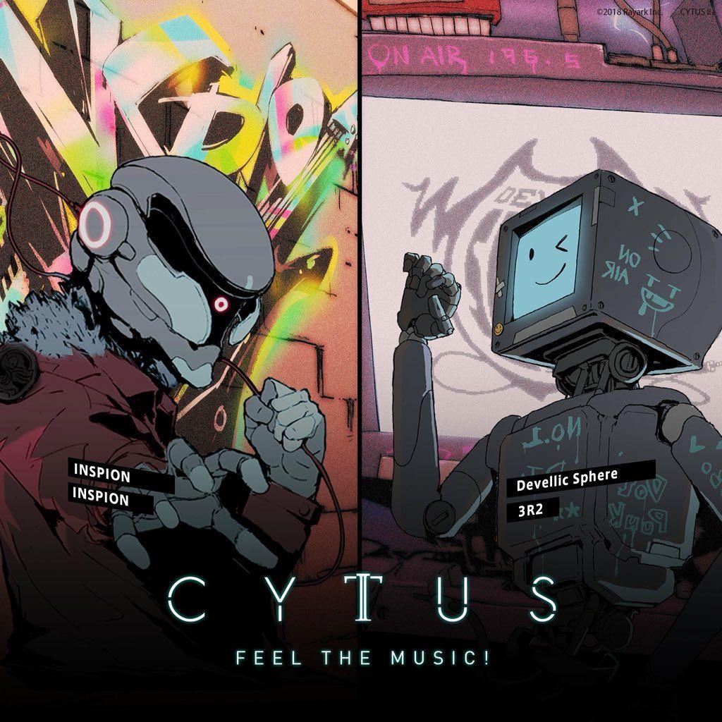 Cytus Cytus 公式 Cyberpunk Art Game Art Anime