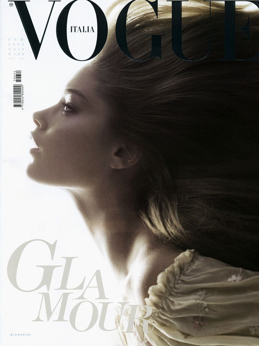 Doutzen Kroes for Vogue Italia. The most perfect profile... ever.