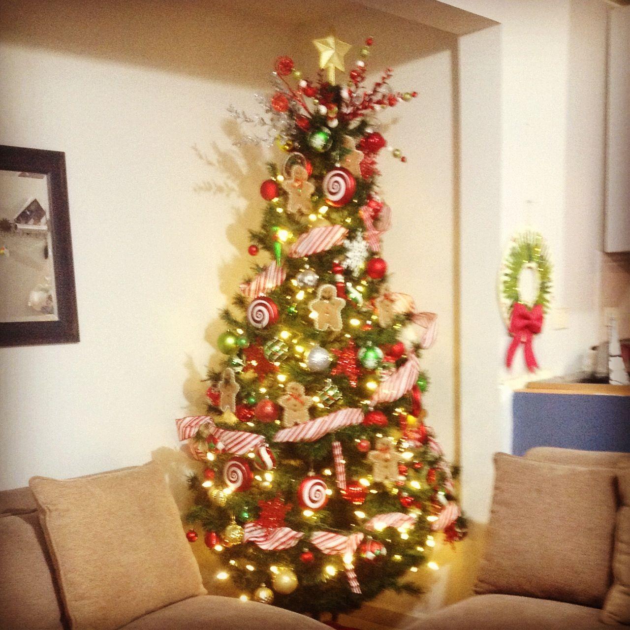 My gingerbread christmas tree 2012 | Gingerbread christmas ...