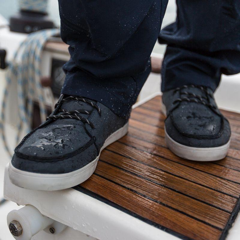 gran descuento 3188b a3b4d Zapatos náuticos de cuero para hombre KOSTALDE RAIN marrón ...