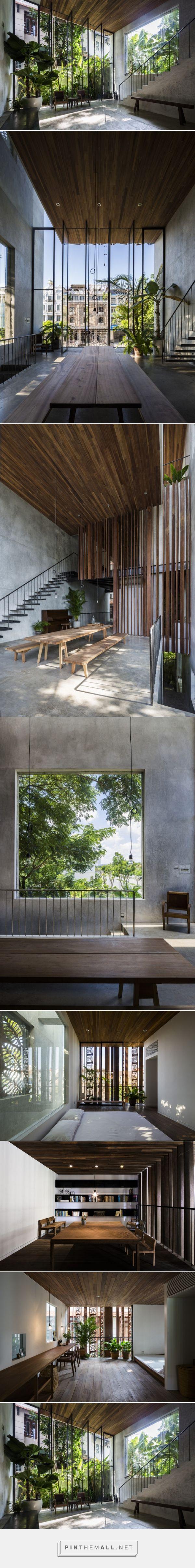 thong house / nishizawa architects | archdaily - created via https