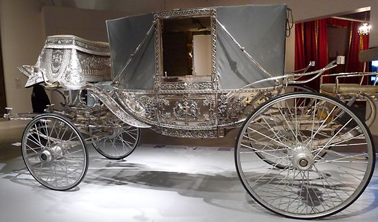 1915 carriage for the Maharaja of Bhavnagar, made entirely of silver