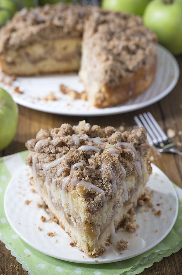 Cinnamon Apple Crumb Cake Recipe Dessert Recipes Pinterest