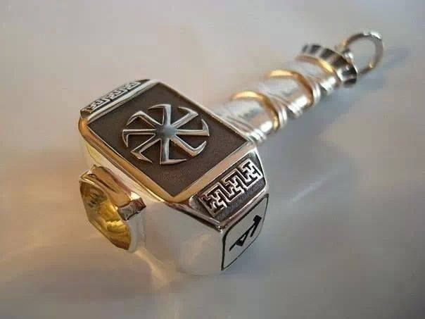 Mjölnir....I can't wait to receive a replica of this on the eve of my handfasting.