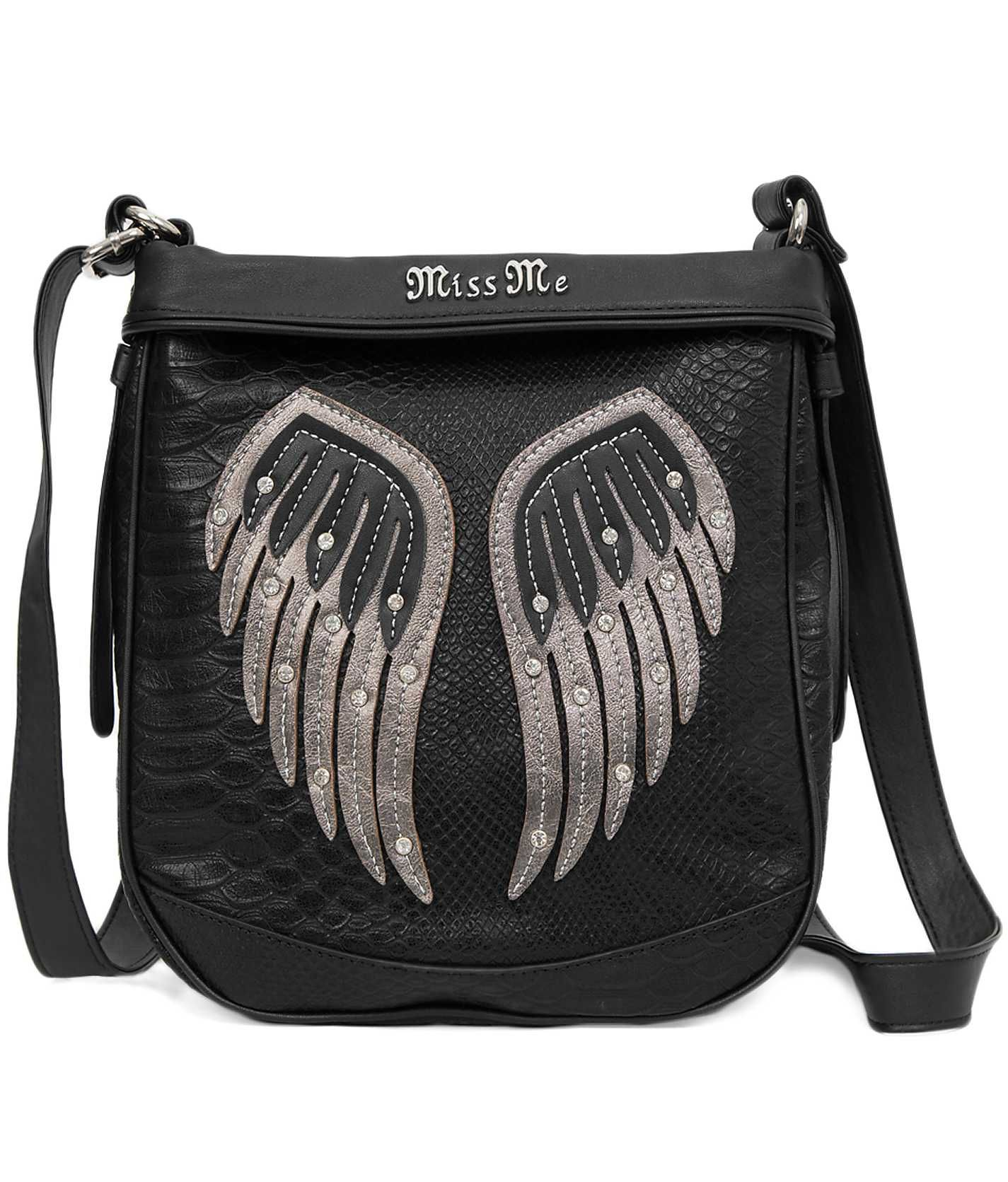 Miss Me Angel Wings Crossbody Purse - Women's Bags | Buckle ...