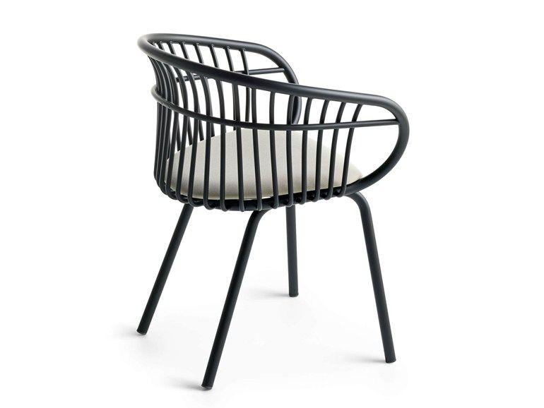 Wunderbar Stuhl Aus Aluminium Mit Armlehnen STEM 4L By Crassevig Design Patrick  Norguet