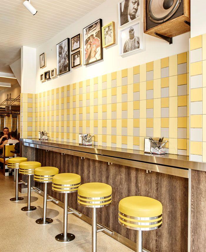 Idées de décoration Diner Américain Vintage | Biggie smalls, Diners ...