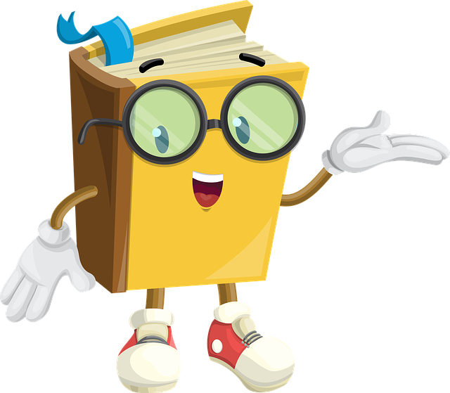 Free Image On Pixabay Book Character Glasses Show Cartoon Books Book Clip Art Ebook Cover