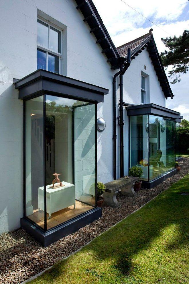 Modern Bay Windows Exterior Victorian With Glass Window Conversion Kit Bay Window Exterior Windows Exterior Bay Window