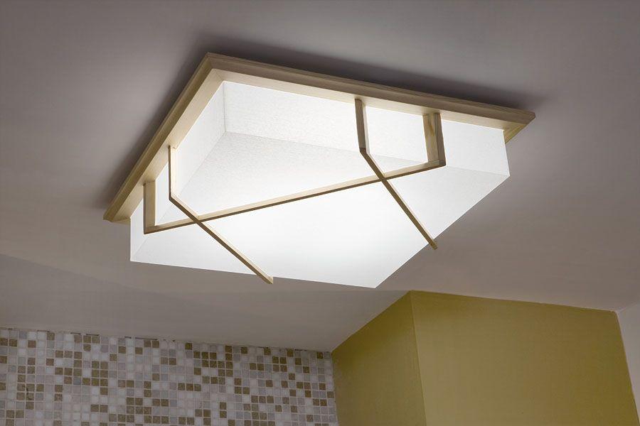 con esta lmpara de techo expandirs la luz en toda la habitacin