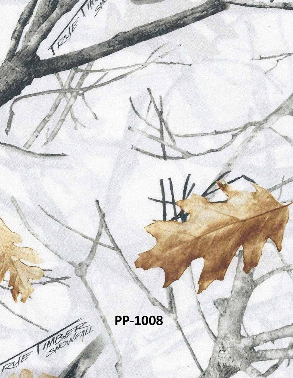 True Timber Bridal White Snow Snowfall Camo by fieldsfabrics, $9.95