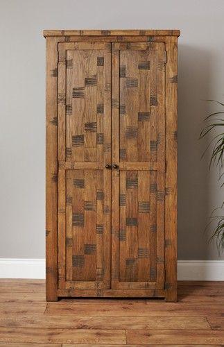 heyford rough sawn oak large shoe cupboard