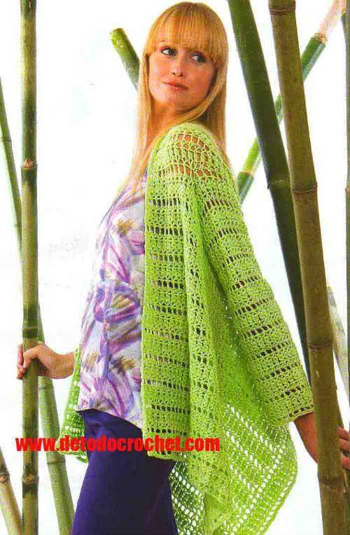 Todo crochet   ABRIGO   Pinterest   Molde, Ganchillo y Patrones
