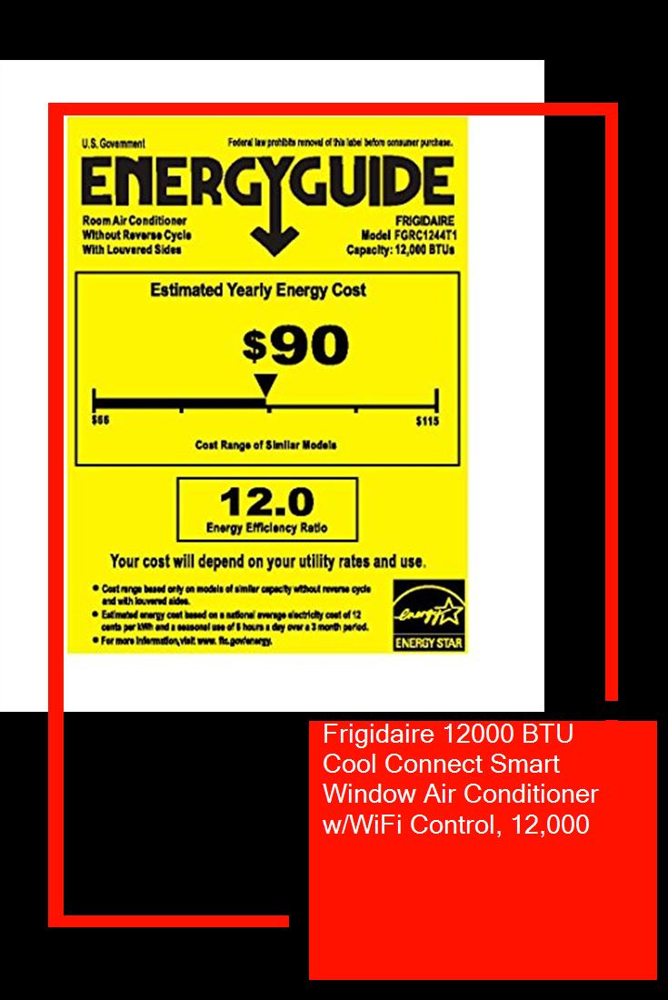 Frigidaire 12000 BTU Cool Connect Smart Window Air