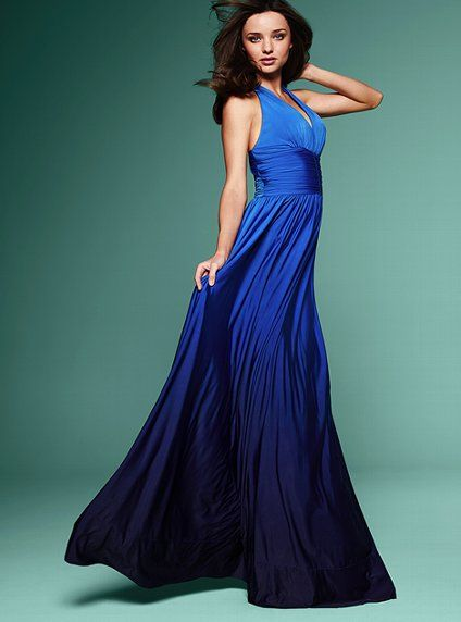 377620ac Victoria's Secret Cross-back Maxi Dress Spring's hot silhouette gets bold  in bright ombre colors.