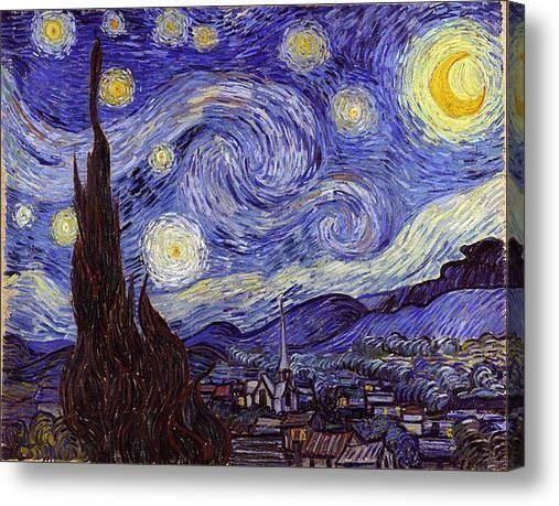 Vincent Van Gogh Starry Night Print