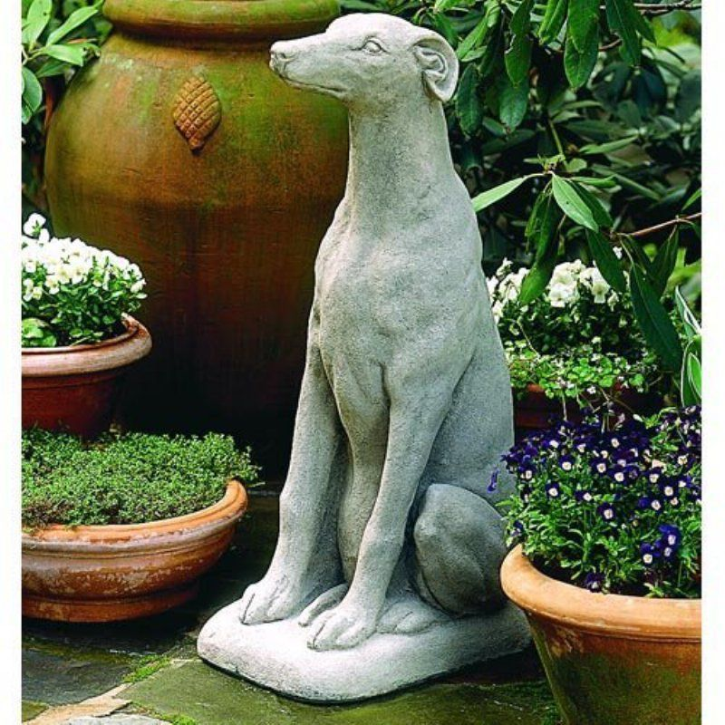 Greyhound Garden Statue A 240 As