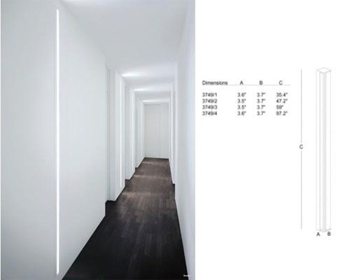 Slot Recessed Wall Light Recessed Wall Lights Wall Lights Light Accessories