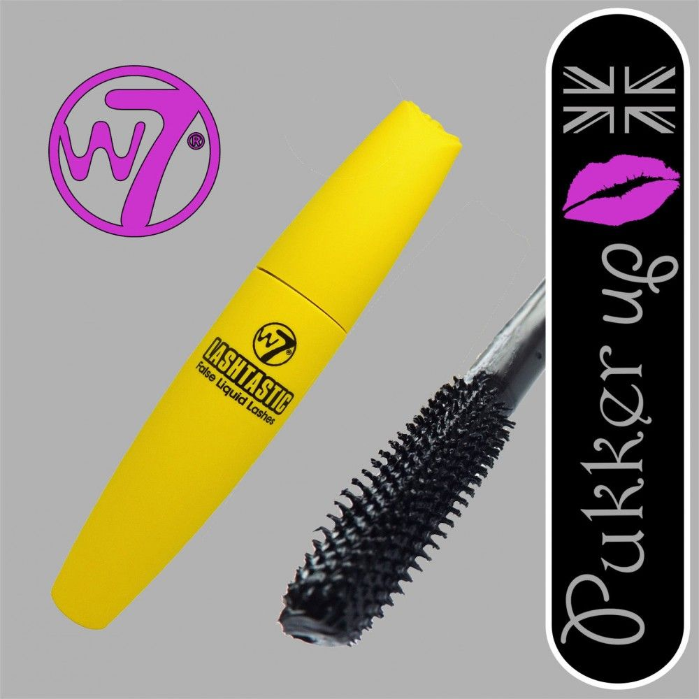 7866ed0a526 W7 Makeup Make Up Lashtastic False Liquid Lashes Mascara Black Big Lash  Effect