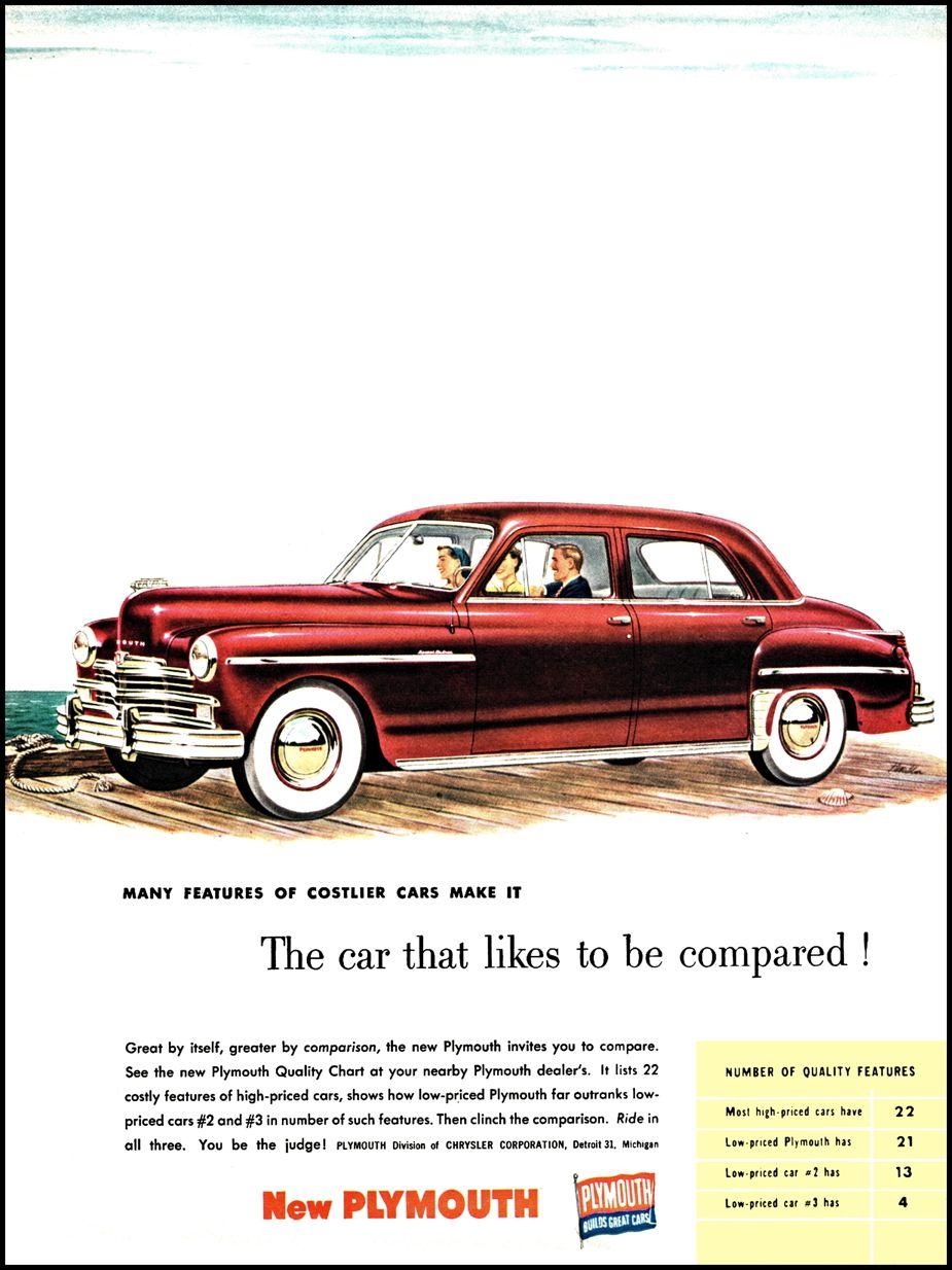 1949 Plymouth Special Deluxe Four Door Sedan | Vintage Cars ...