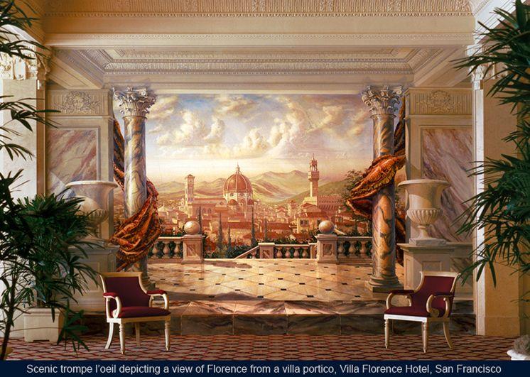 Marvelous Beautiful Trompe L Oeil Wall Murals Nice Ideas Great Ideas