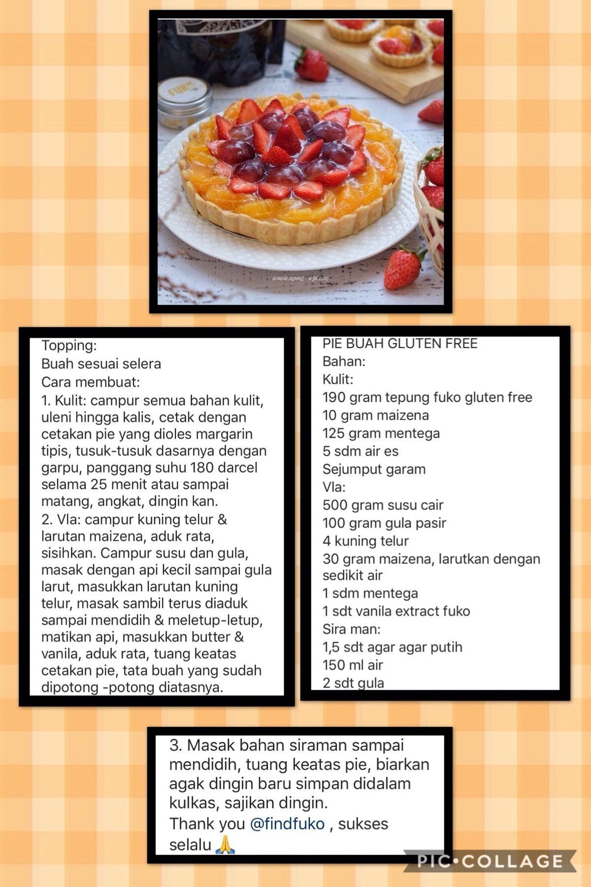 Pin Oleh Giok Ay Di My Recipe Resep Resep Kue Kue