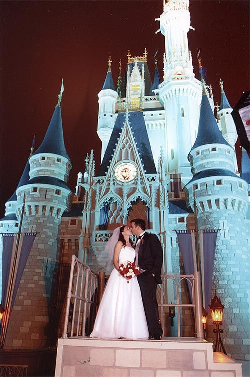Get Married In Front Of Cinderellas Castle At Disney World A True Fairy Tale Wedding
