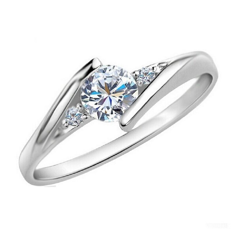 Find More Rings Information about White Gold Plated Wedding