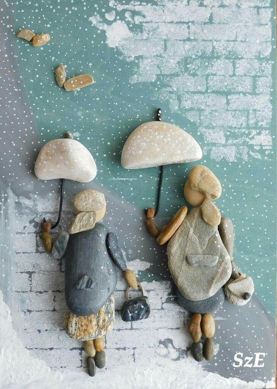 Pebbles: 25 Ideen für kreative Kunstinspiration #history