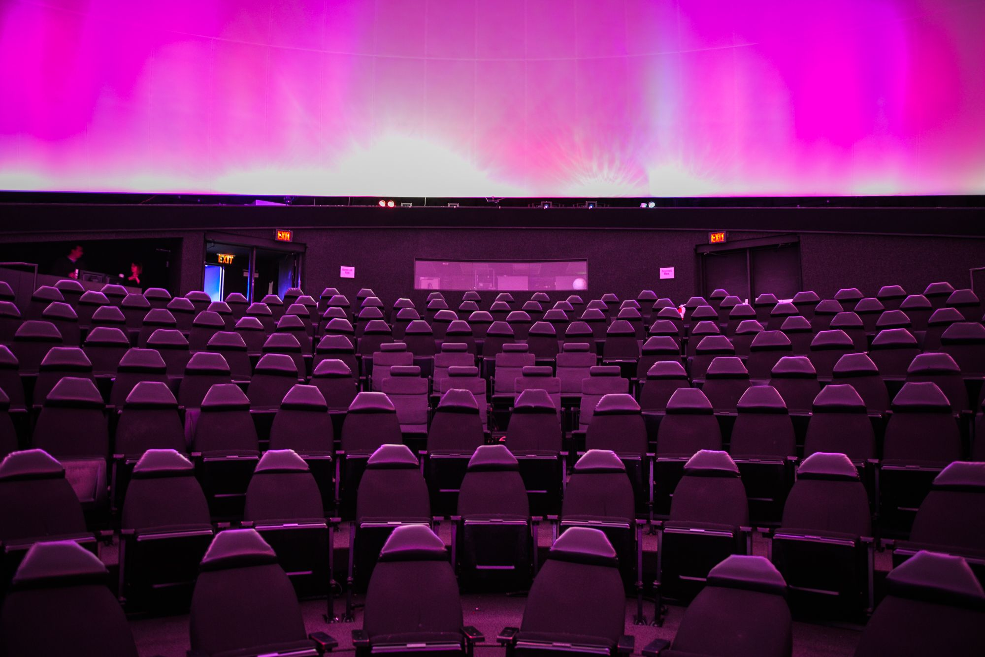 Definit Space Theater at the Adler Planetarium
