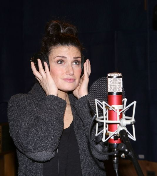 The If / Then Original Cast Recording Album will be available everywhere on June 3rd, 2014! #masterworksbroadway #ifthen #ifthenmusical #idinamenzel #lachanze #anthonyrapp #jamessnyder Photo Coverage: Inside the Recording Studio with the Cast of IF/THEN!