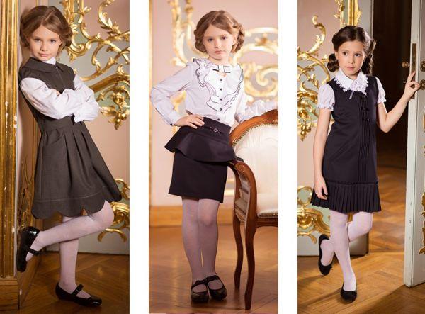 Модная школьная одежда для девочки