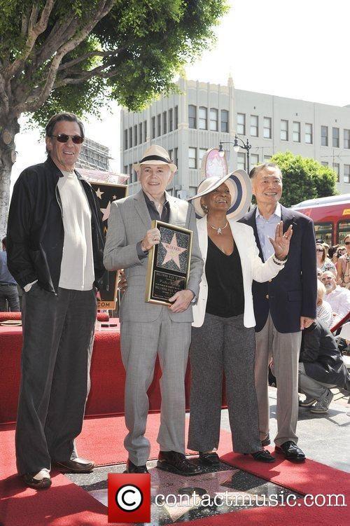 Leonard Nimoy, George Takei, Nichelle Nichols, Walter Koenig, Star On The Hollywood Walk Of Fame