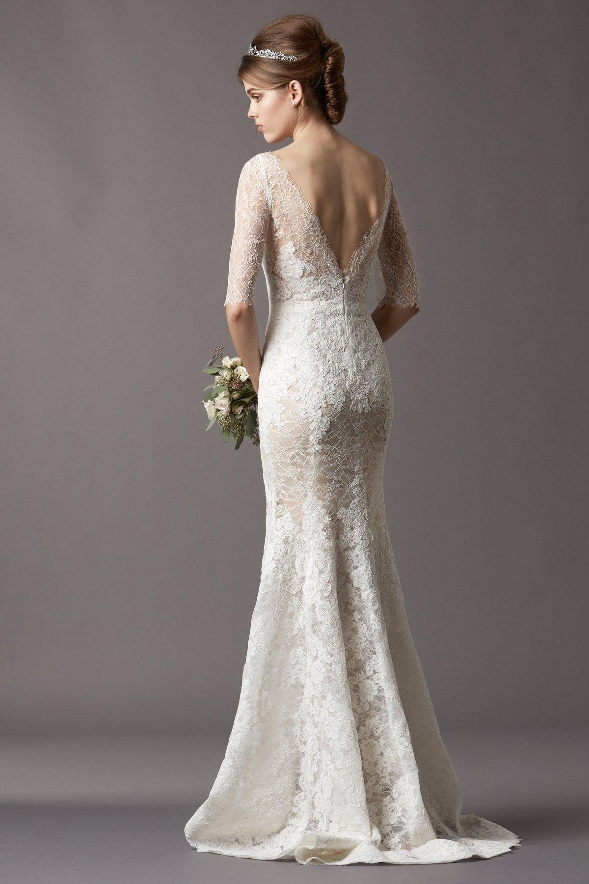 Sheath Wedding Dresses Of Imposing Wedding Dress Ideas Modern Chic ...