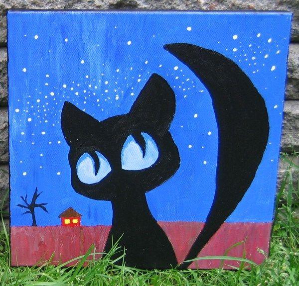 Musta kissa yöllä 17.6.2007