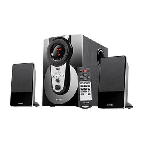 Buy Intex It 2490 Fmu Bt 2 1 Bluetooth Multimedia Speaker Online