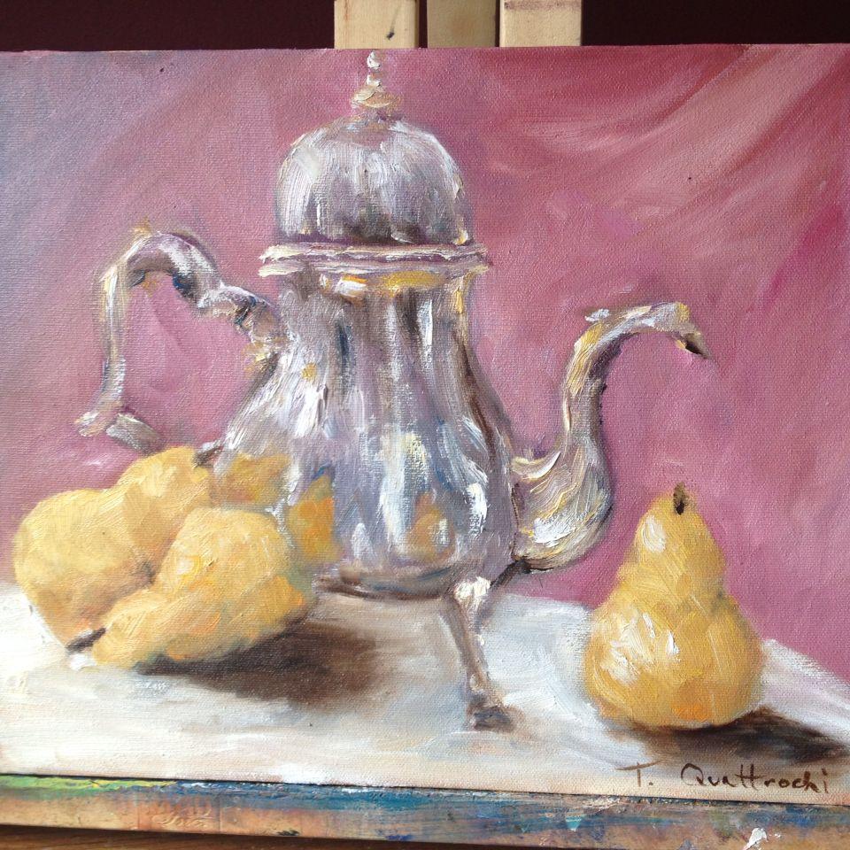 """Still life oil painting  11x14"""""""