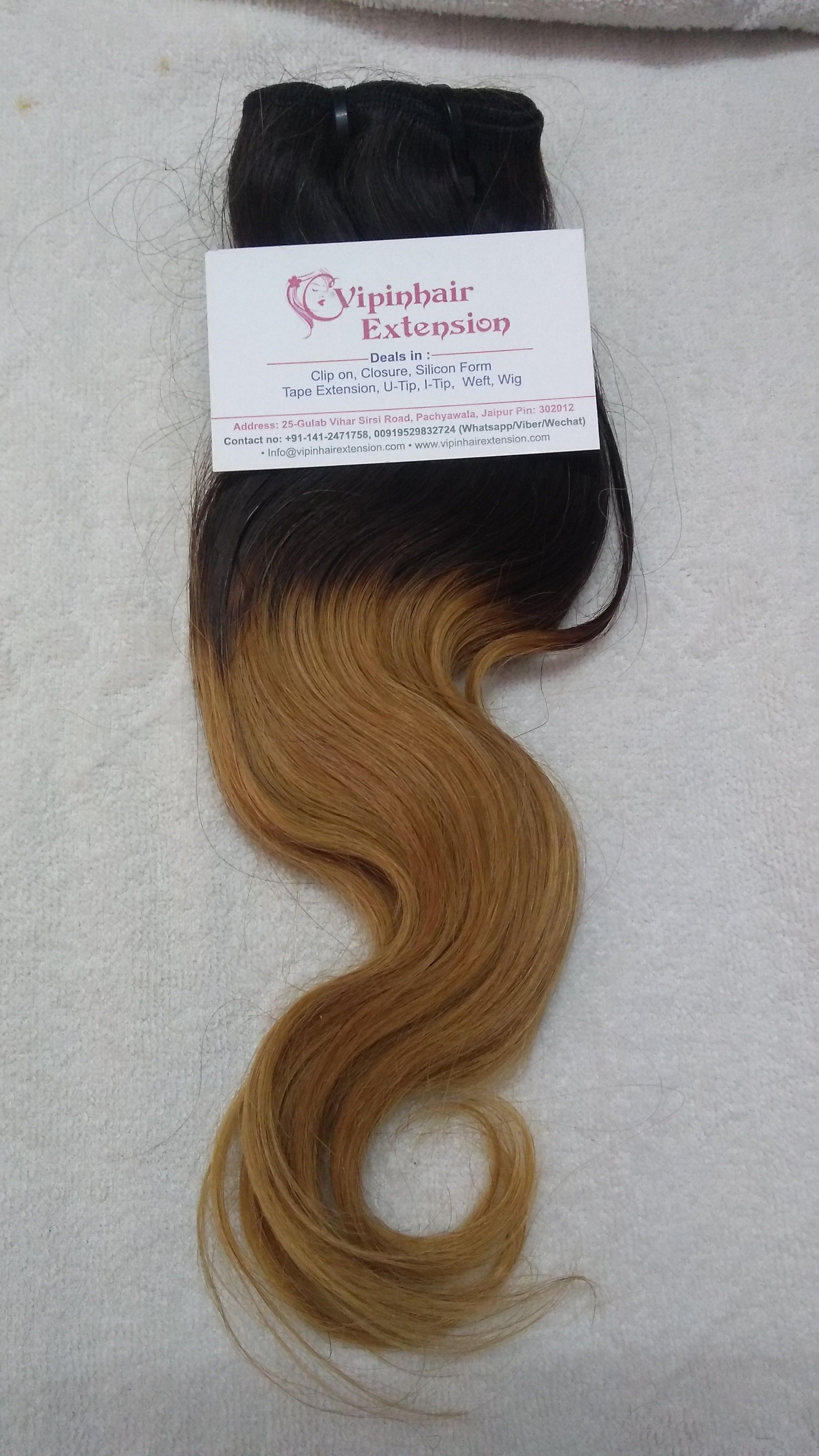 Vipin Hair Extension Is Providing Best Ombre Hair Extensions And