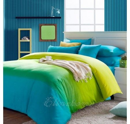 Turquoise And Blue Solid Duvet Cover Bedding Sets Bedding Sets Dorm Room Styles Green Comforter Sets